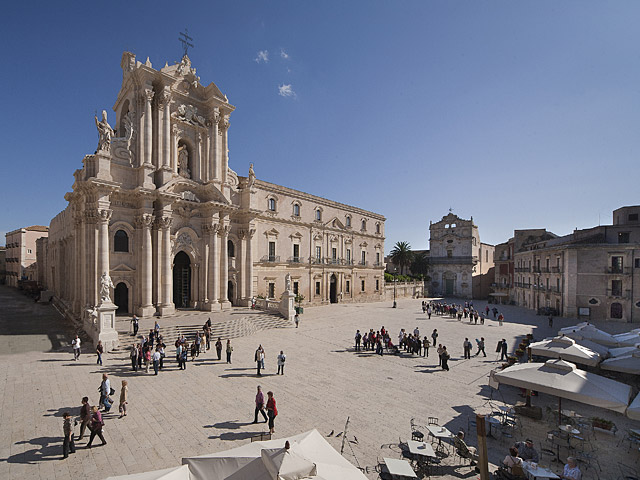 Piazza Duomo Siracusa Italy